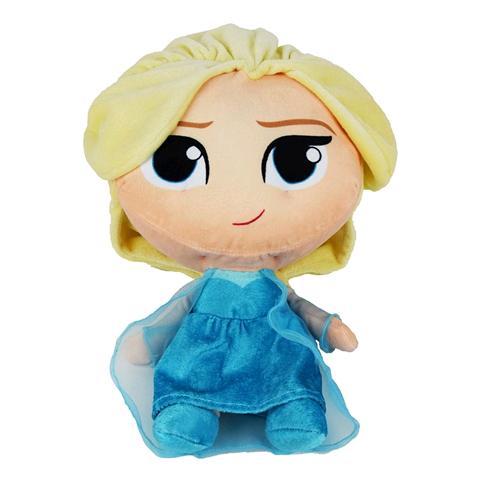 PTS SRL Peluche Elsa Frozen Disney Stilizzata Bambola Disney Principessa Cm. 35