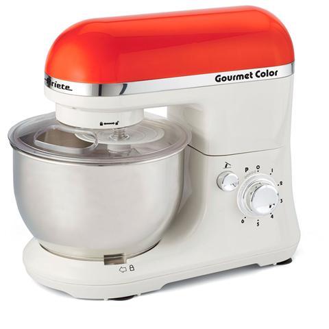 Gourmet Color Robot da Cucina Impastatrice Capacità 4 Litri Potenza 1000 Watt Colore Arancione