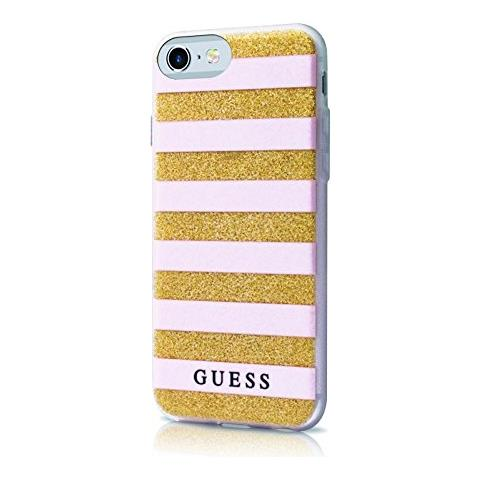GUESS Stripe 3d Iphone 7 Pink