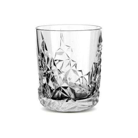 Bicchiere Tumbler Diamond 365 Ml Confezione 12 Pz Attrezzatura Barman Bartender Rs9259