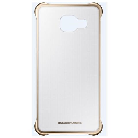 SAMSUNG Cover trasparente oro per Galaxy A3 2016