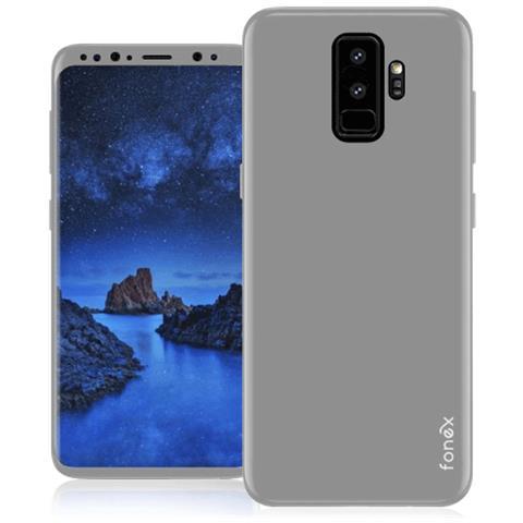 FONEX Cover in TPU per Samsung Galaxy S9+ Colore Bianco Opaco