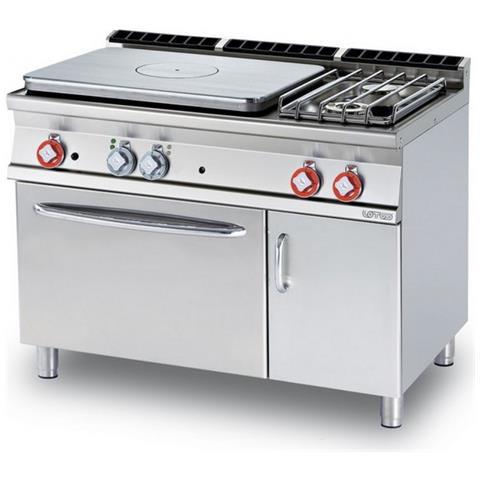 Cucina A Gas Professionale Afp / Tpf2-712gpev