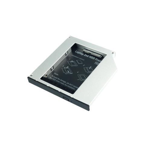 LINDY Adattatore per Hard Disk SATA in slot slim per CD / DVD / BD (alti fino a 12,7mm)