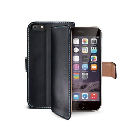 CELLY wallet gen. leather for iphone6 plus bk