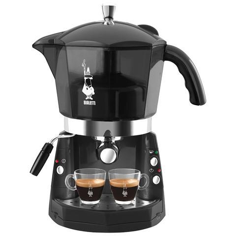 CF40NT Mokona Macchina da Caffè Espresso Capacità 1.5 Litri Potenza 1050 Watt Colore Nero