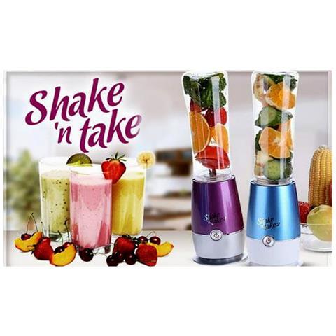 Frullatore Shake N Take 2 Frappe Frutta Milkshake Gelato Fitness Palestra