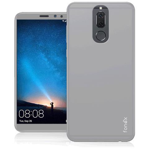 FONEX Cover in TPU per Huawei Mate 10 Lite Colore Bianco Opaco
