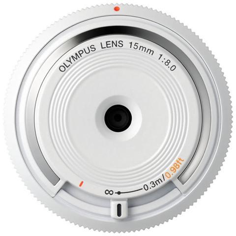 Image of BCL-1580, Ampio, MILC, 3/3, Micro quattro terzi, PEN, OM-D, Bianco