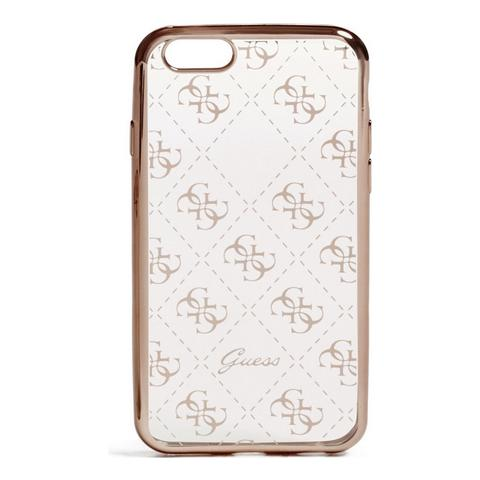 GUESS Transp Rose Gold Iphone 7