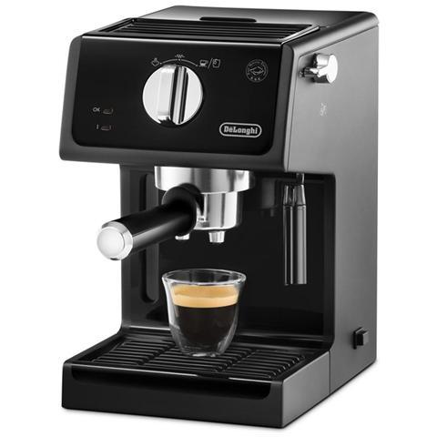 Macchina Per Caffe' Macinato E Cialde Colore Nero Ecp3121 Delonghi