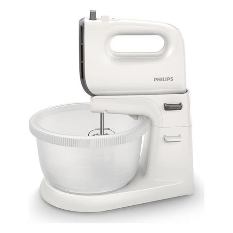 Mixer Viva Collection HR3745/00 Potenza 450 Watt Colore Grigio e Bianco