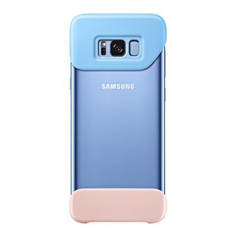 SAMSUNG Cust. 2 Parti Sgh G955 Galaxy S 8+ Blue / Peach