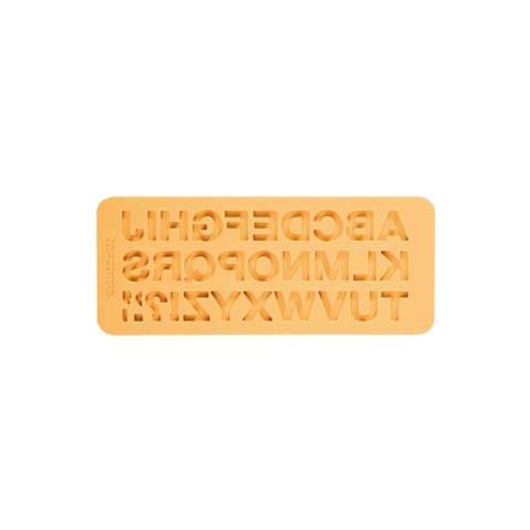 Tescoma Stampo in silicone x pasta di zucchero alfabeto delicia deco