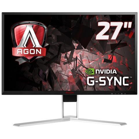 """AOC Monitor 27"""" LED IPS AG271QG 2560x1440 QHD Tempo di Risposta 4 ms Frequenza di Aggiornamento 165Hz"""