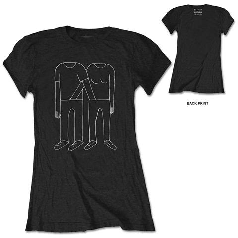 ROCK OFF Catfish And The Bottlemen - Hands Down Pants With Back Printing (T-Shirt Donna Tg. 2Xl)