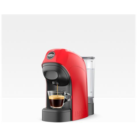 Macchina da Caffè Espresso Tiny Serbatoio 0.75Lt. Potenza 1450 Watt Colore Rosso