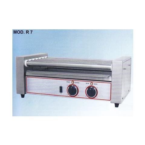 Cuoci Scalda Wurstel Hot Dog Inox 7 Rulli Rs0762