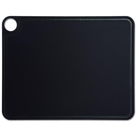 Taglieri - Resina E Fibra Di Cellulosa 42,7 X 32,7 Cm E 6,5 Mm Spessore - Colore Nero