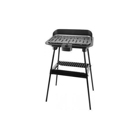 Image of BG-111822.2 Barbecue Zona cottura Elettrico 1400W Nero barbecue e bistecchiera