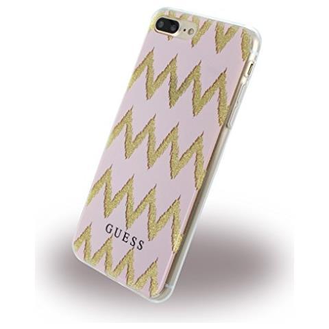 GUESS Chevron 3d Iphone 7 Plus Pink