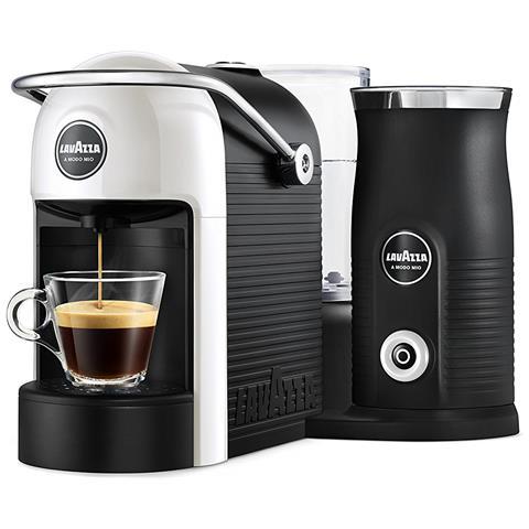 Macchina da Caffè Espresso Jolie&Milk Potenza 1250 Watt Colore Bianco