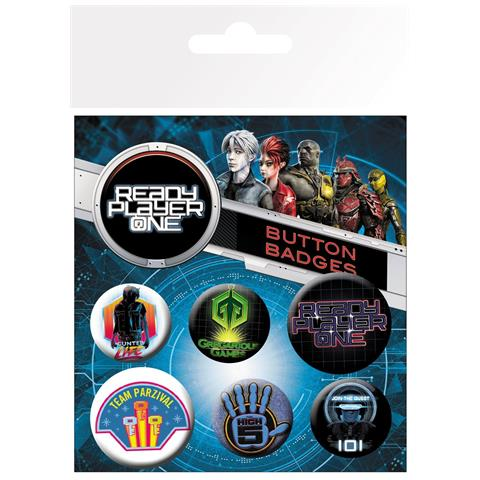 GB EYE Ready Player One - Mix (badge Pack)