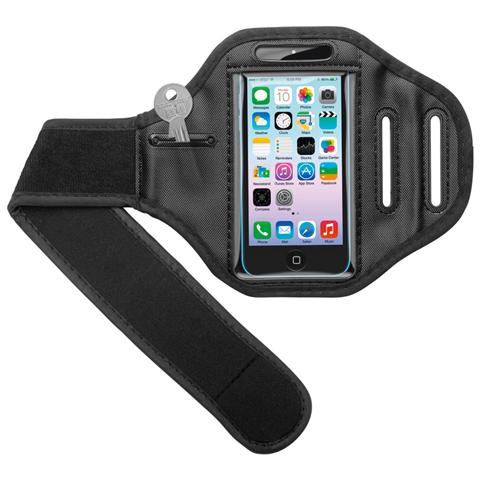 GOOBAY I-PHONE-SPBL5C - Cinturino da Braccio per iPhone 5/5C / 5S