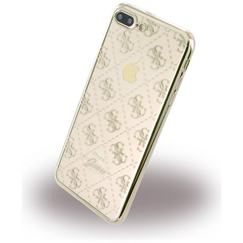 GUESS Transp Gold Iphone 7 Plus