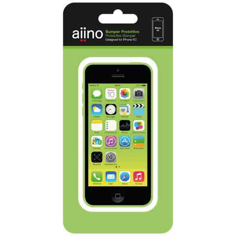 AIINO Bumper for iPhone 5C - Green