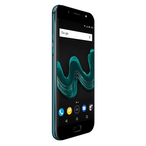 "WIKO Wim Verde Acqua 64 GB 4G / LTE Display 5.5"" Full HD Slot Micro SD Fotocamera 13 Mpx Android Tim Italia"