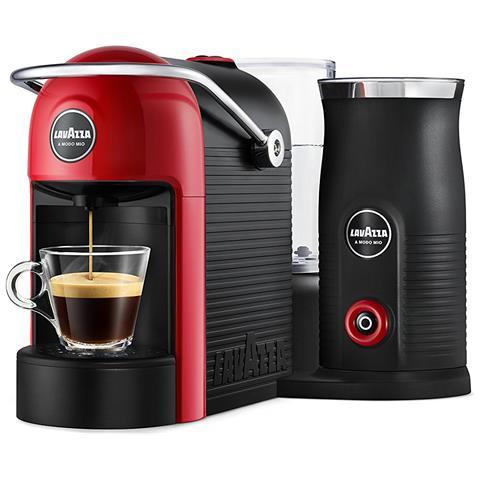 Macchina da Caffè Espresso Jolie&Milk Potenza 1250 Watt Colore Rosso