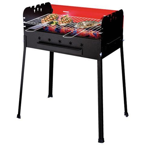 Barbecue a Carbone Picnic Family con Piano Appoggio Laterale Estraibile