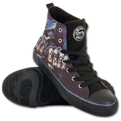SPIRAL Game Over Sneakers - Men's High Top Laceup M43-9 (Scarpe Uomo Tg. 43)