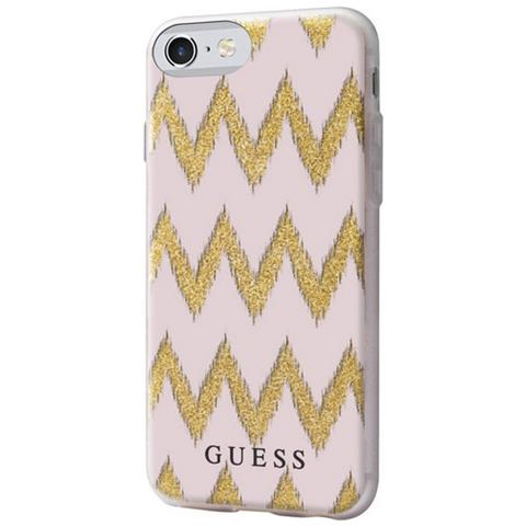 GUESS Chevron 3d Iphone 7 Pink