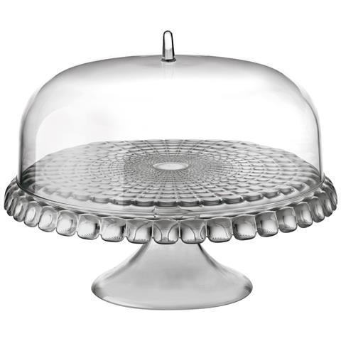 Alzata Con Campana Grigio Cielo Serie Tiffany 36 X H 28