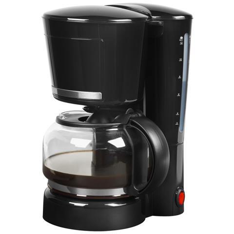 MD 17229 Macchina Caffè Americano 10 Tazze Potenza 870 Watt Colore Nero / Acciaio