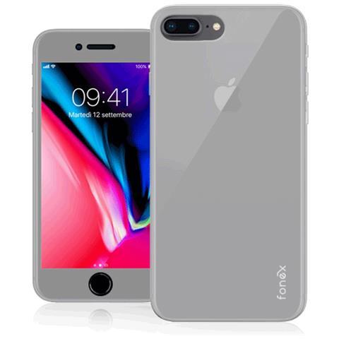 FONEX Cover in TPU per Iphone 7 / 8 Colore Bianco Opaco