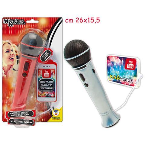 TEOREMA Microfono Con Mp3 - Blister