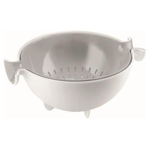 Scolatutto con contenitore my kitchen grigio