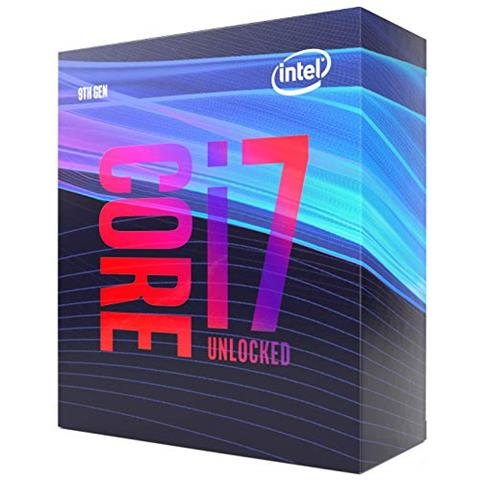 INTEL Processore Intel Core i7-9700K 8 Core 3.6 GHZ Socket LGA 1151