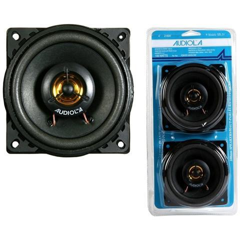 AUDIOLA Speakers Cassa Sbl24 Punto Posteriore 100w 100mm A 2 Vie