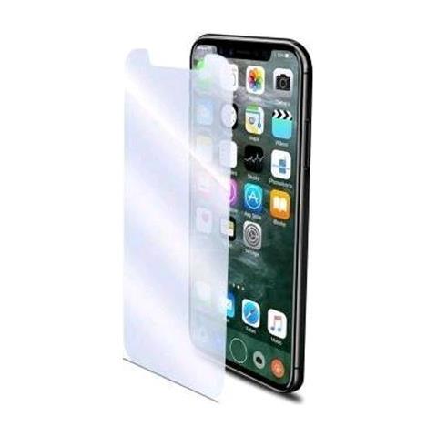 CELLY Easy Glass Pellicola Protettiva in Vetro Temperato per iPhone X Mate