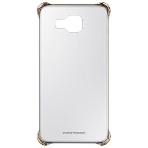 SAMSUNG Cover trasparente oro per Galaxy A5 2016