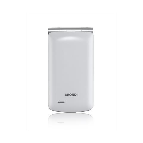 "BRONDI Magnum 3 Dual Sim Display 3"" + Slot MicroSD Fotocamera 1,3Mpx Colore Bianco- Italia"