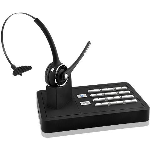 Lenovo Rete Fissa Headset + Bluetooth Del Telefono Mobile