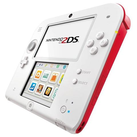Image of Console 2DS - Bianco / Rosso