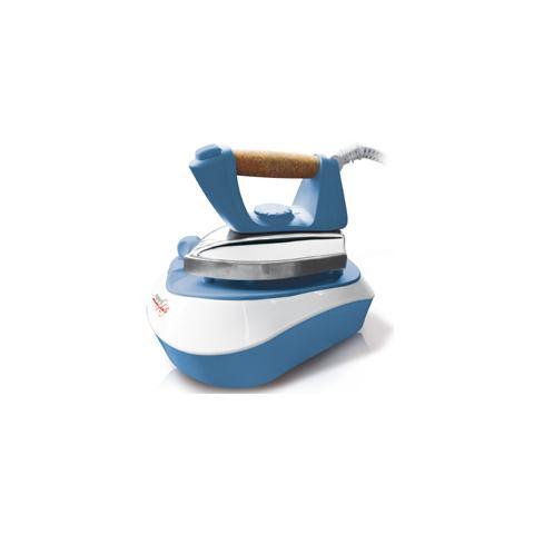 MELCHIONI FAMILY Pratica Ferro da Stiro con Caldaia Potenza 2000 Watt Capacità 500 ml Colore Azzurro