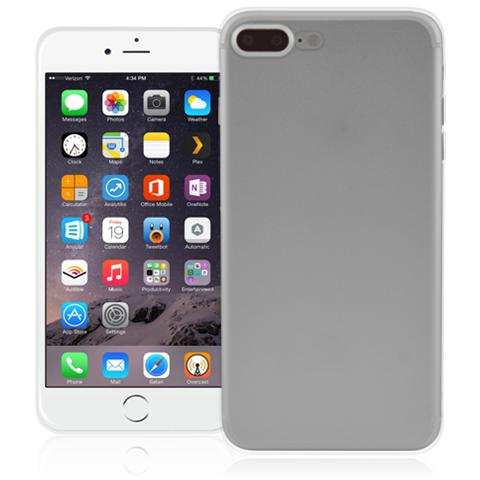FONEX Inv Cover Ultra Sottile 0,2 mm in Morbido TPU per Apple iPhone 7 Plus Colore Trasparente
