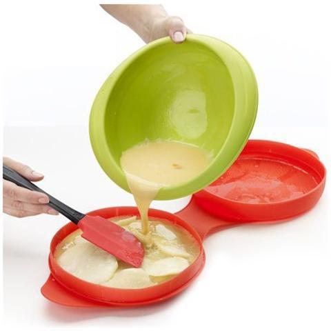 Lekué Cuoci Frittata Lekuè Spanish Omelette Nel Microonde Cucinare Velocemente